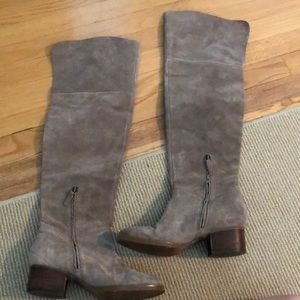 Nordstrom's B.P Suede Over-The-Knee boots